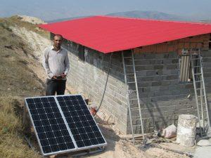 تامین برق خورشیدی